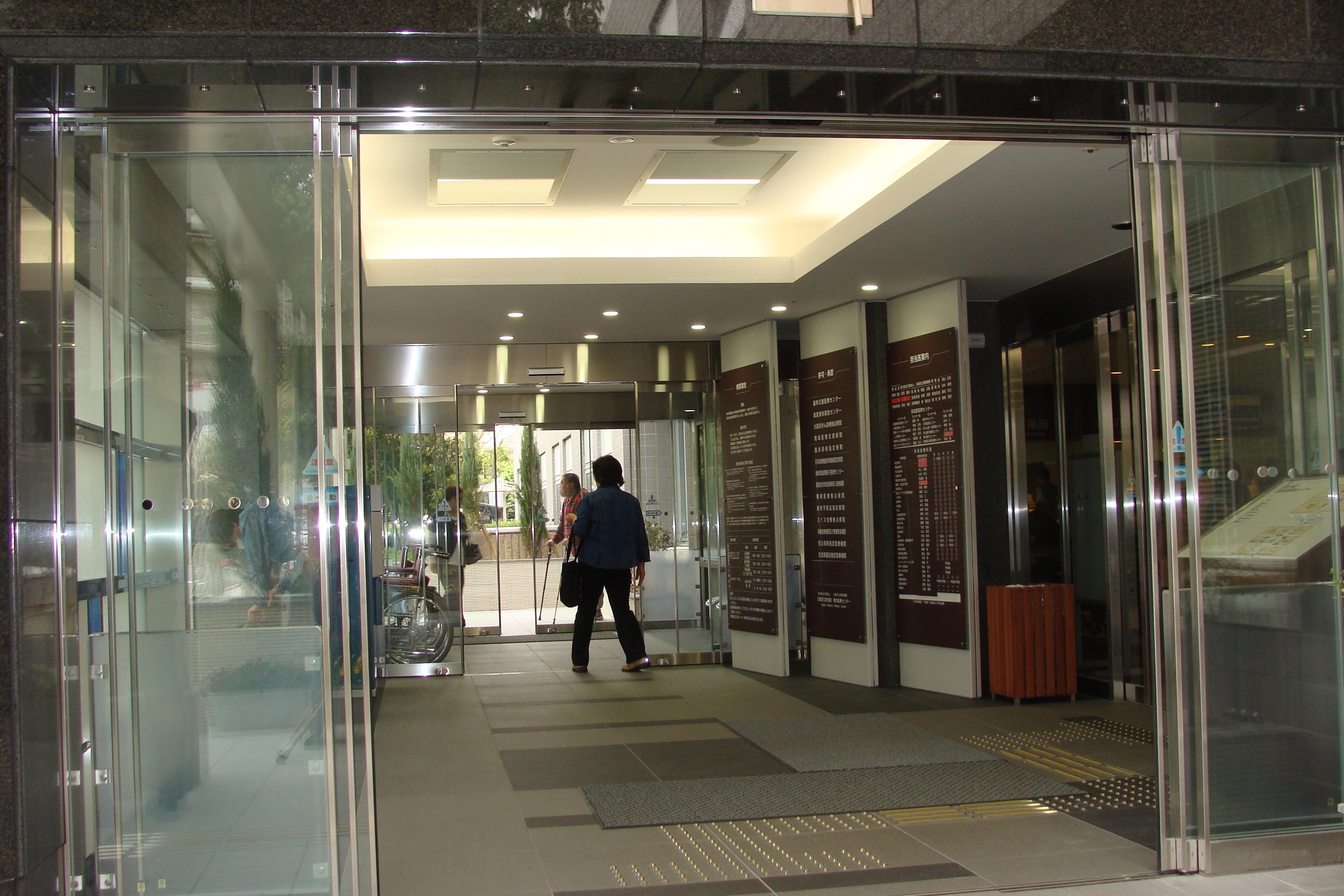 大阪市 急性期医療センター『風除室』